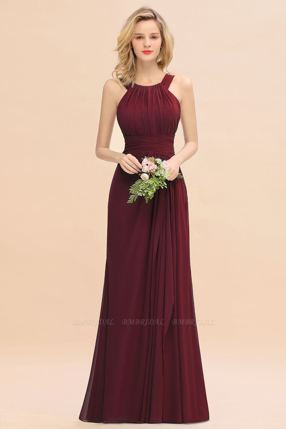 Burgundy Bridesmaid Dresses Are Perfect for A Fall Wedding In 2019