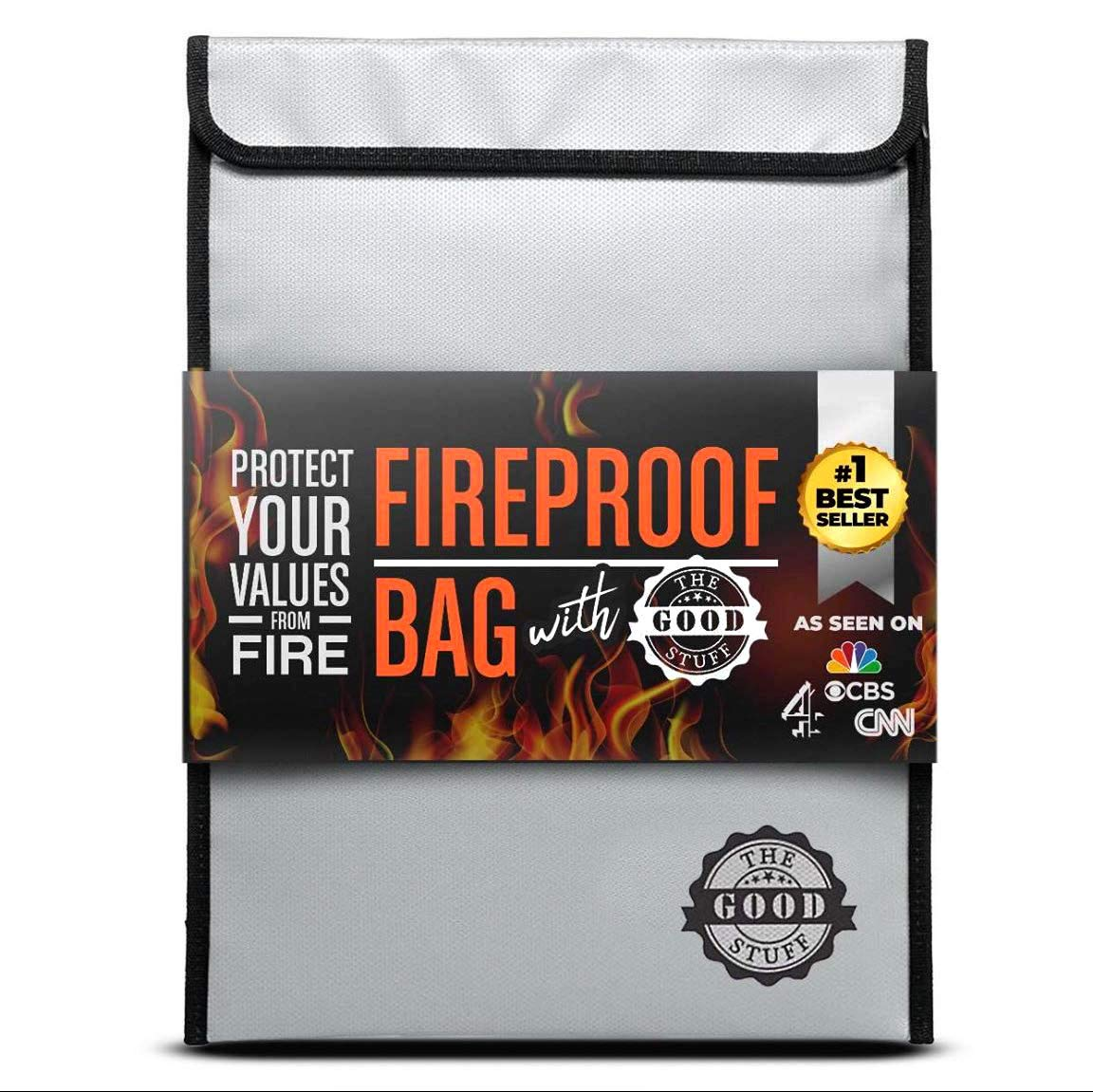 'THE GOOD STUFF' RELEASES NEW HIGH-QUALITY FIREPROOF DOCUMENT BAG