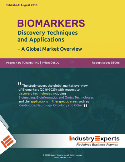 Biomarkers: Discovery Techniques and Applications – A Global Market Overview