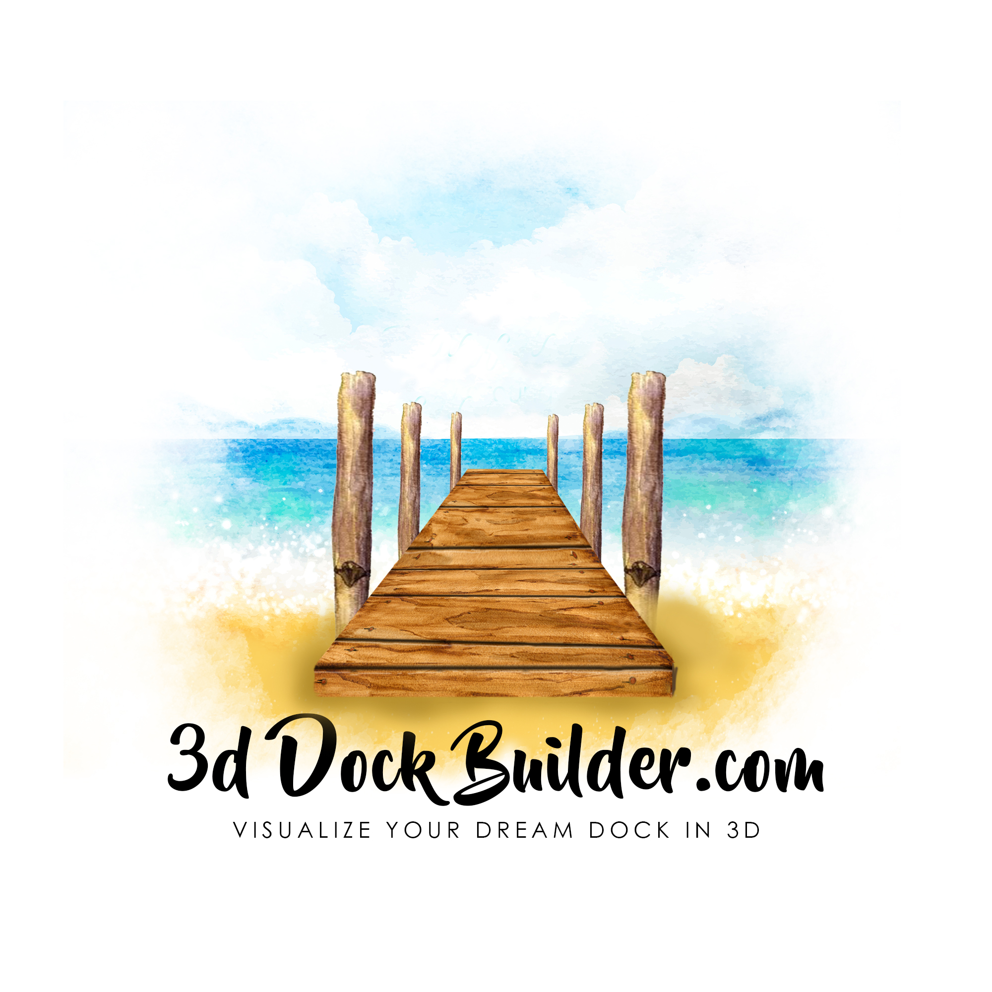 3D Dock Builder takes buying a dock to a new level with the web based dock configurator