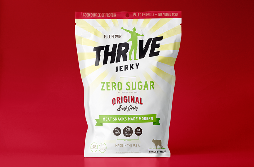 THRIVE Jerky is now offered Nationwide Through Mr. Checkout\'s Direct Store Delivery Distributors