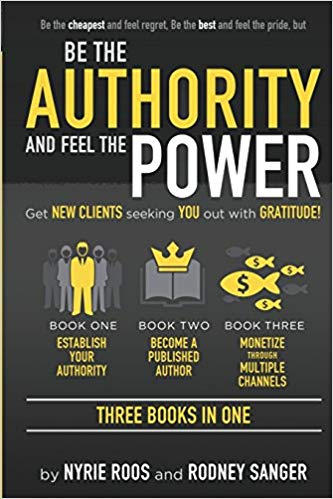 Nyrie Roos Releases her New Book \'Be the Authority and Feel the Power\'