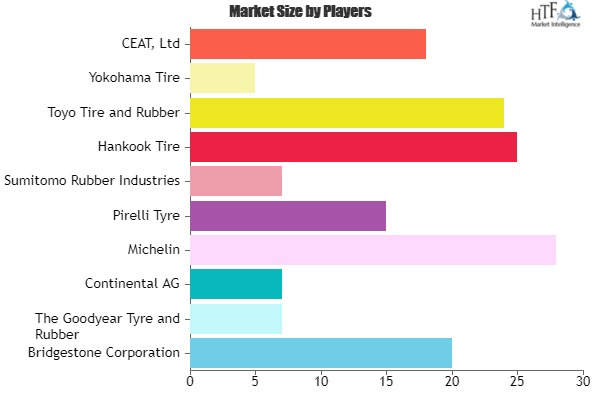 Tubeless Tyre Market Projected to Show Strong Growth | Involved Key Vendors (Michelin, Pirelli Tyre, Hankook Tire, CEAT)
