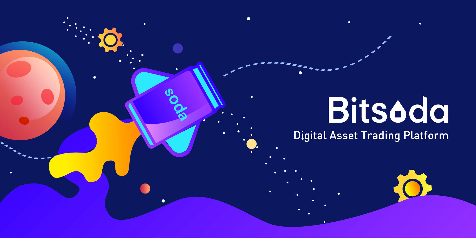 The Exchange for New Generation - Bitsoda.com Launches Globally