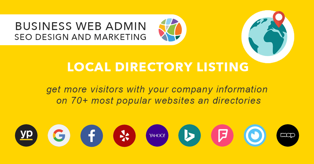 Local Business Listing and Management Service at Business Web Admin