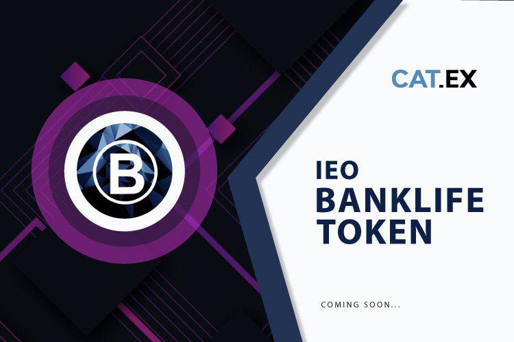 Catex launchpad Will Launch The first IEO - Banklife (LIB) On October 24th