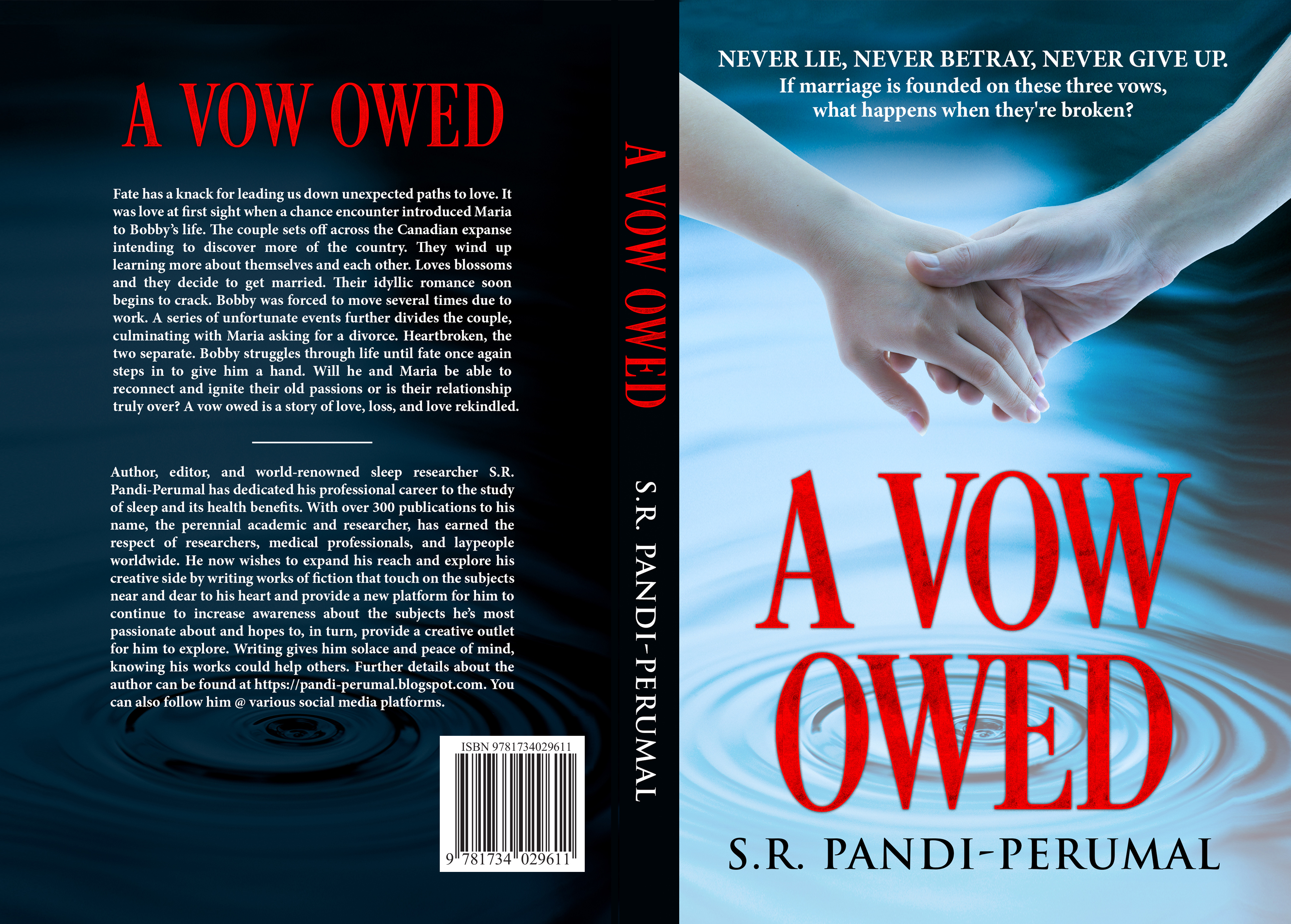 New Romance Novel, A Vow Owed, Takes Readers on an Adventure of Love, Life & Sorrow
