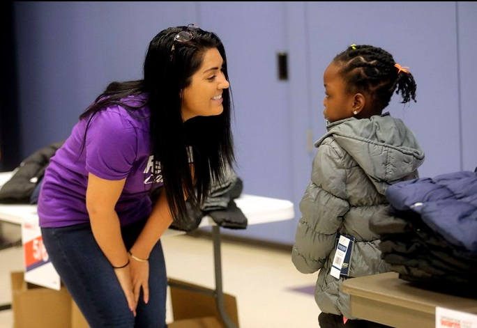 The FedEx Foundation\'s Operation Warm teams up to provide coats for 250 Utah students
