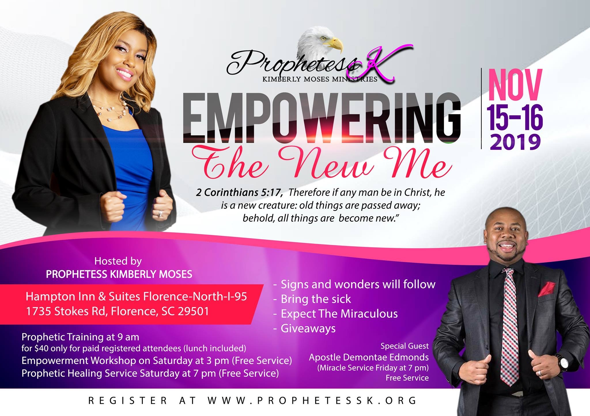 Kimberly Moses hosts her annual life-changing event in November