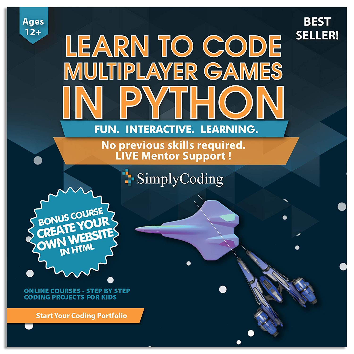 Simply Coding Python-Multiplayer Program Simplifies Python and Code creation for Kids