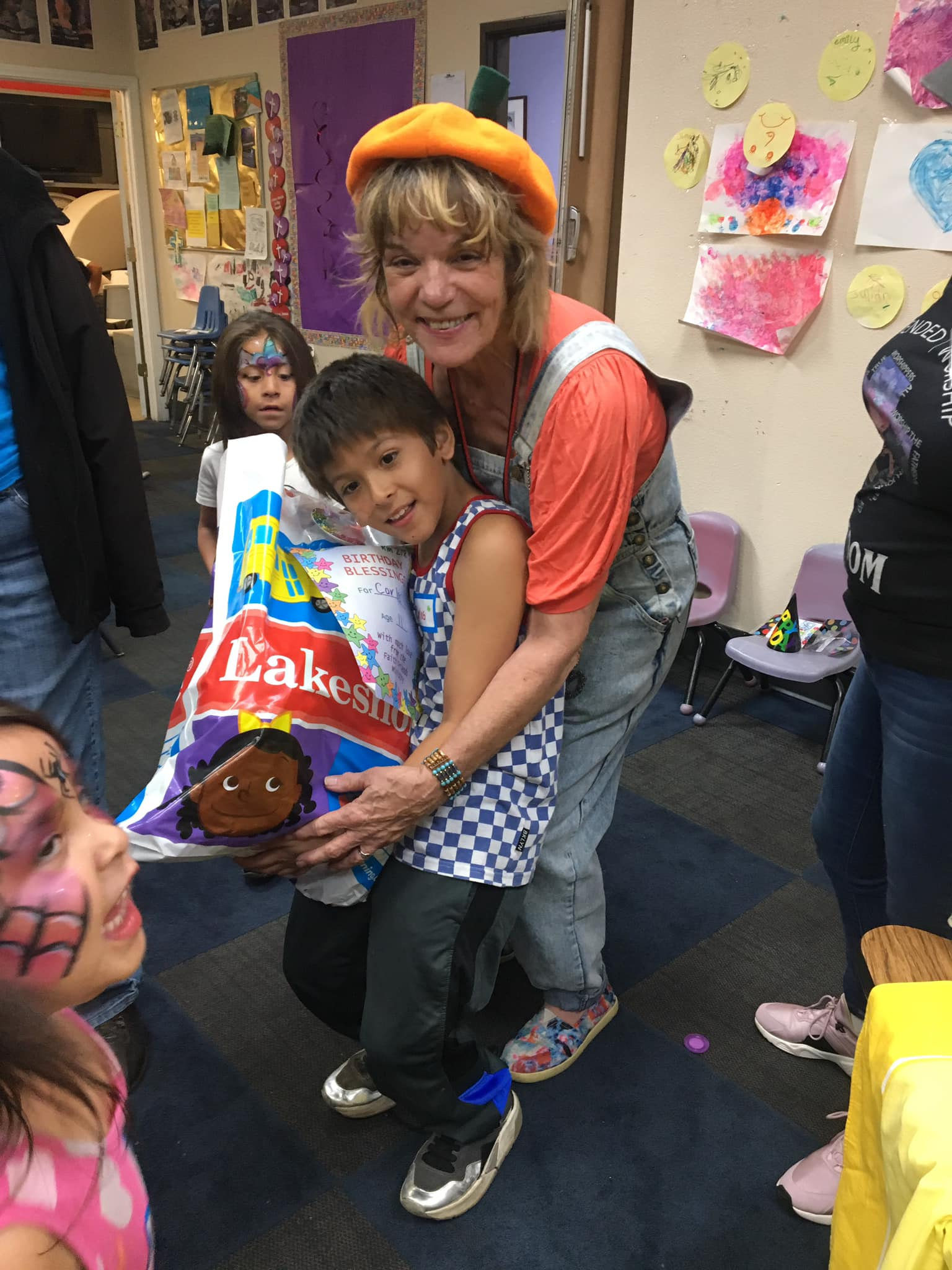 FAITH FRIENDS CHILDREN'S OUTREACH MINISTRY HOSTS BIRTHDAY CELEBRATION FOR HOMELESS CHILDREN
