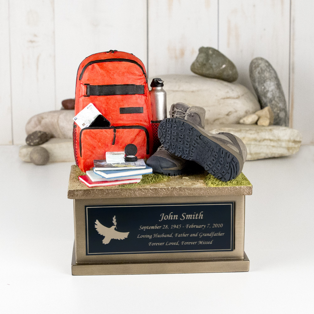 Perfect Memorials Develops Small Hiking Cremation Urn