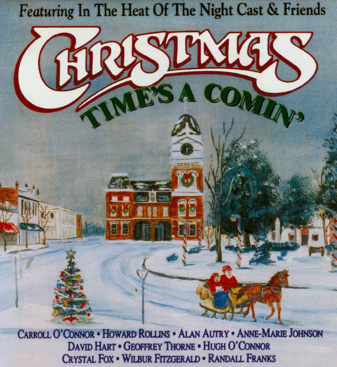 "In the Heat of the Night's ""Christmas Time's A Comin'"" tops AirPlay Direct Global Charts"
