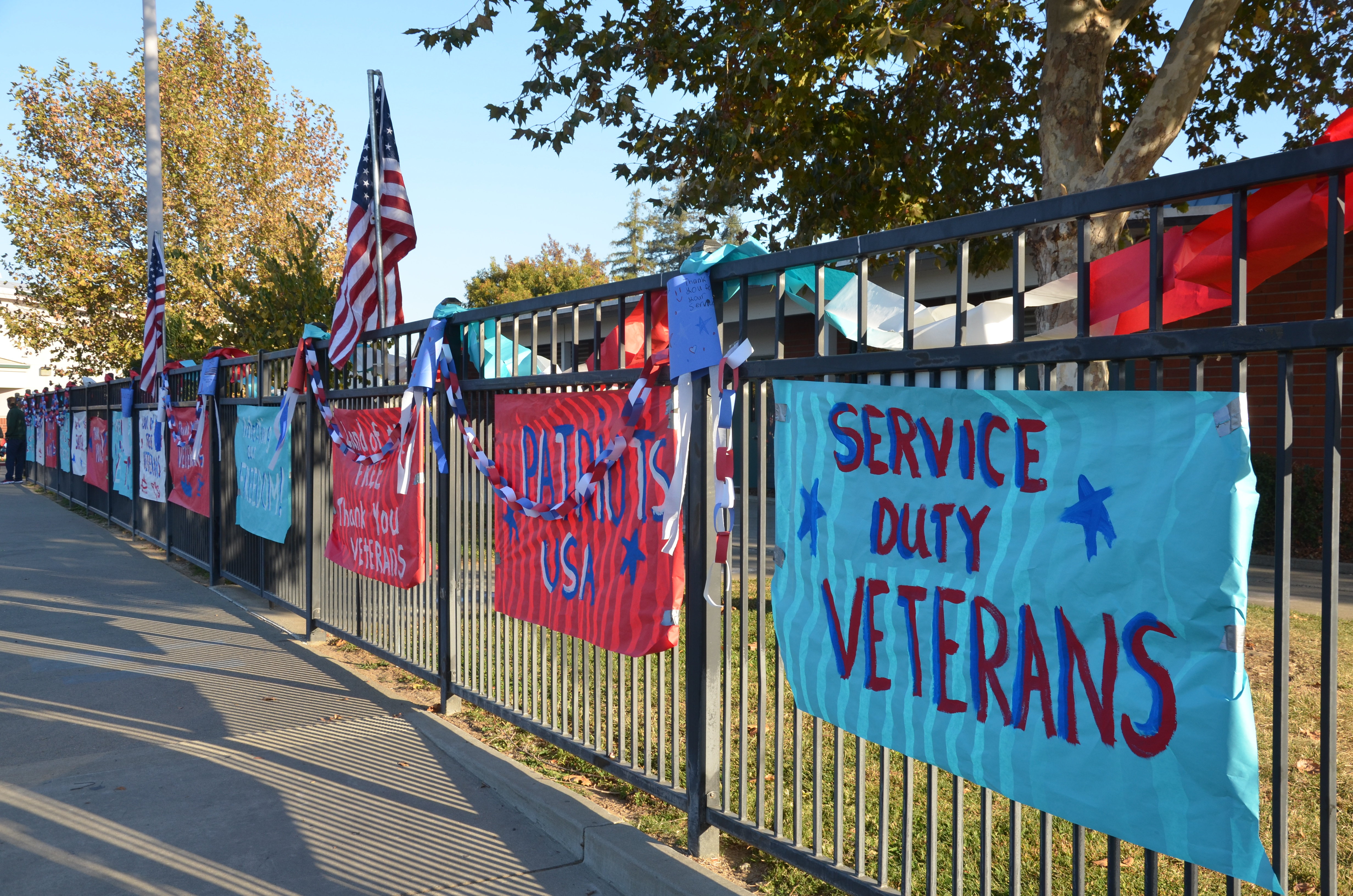 Samuel Kennedy Elementary School Celebrates Local Veterans