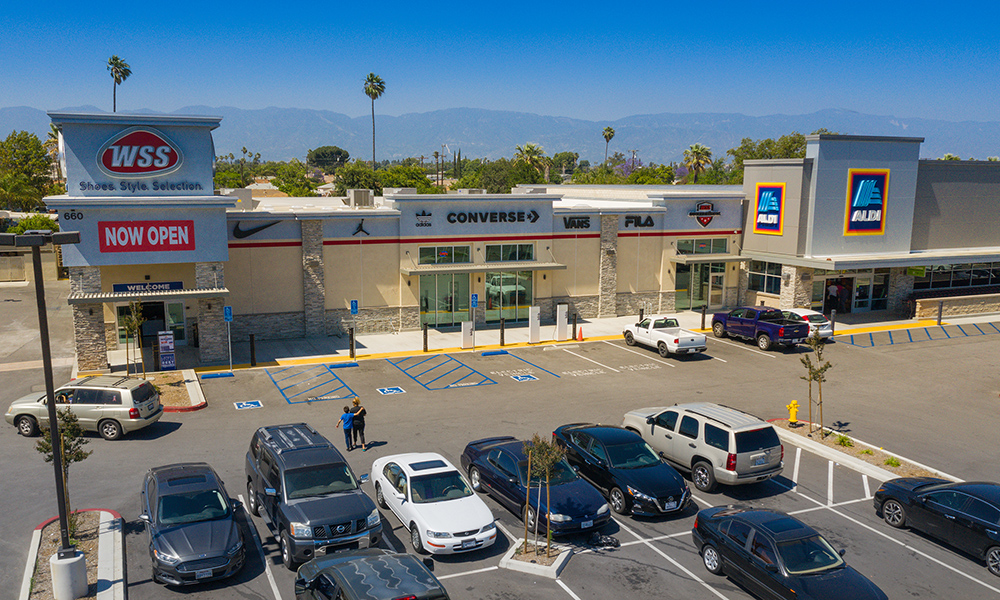 ALDI and WSS Two-Tenant Retail Property Sells in Rialto, California for $8.8 Million