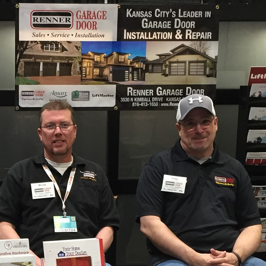 Renner Garage Door of KC Promotes Two