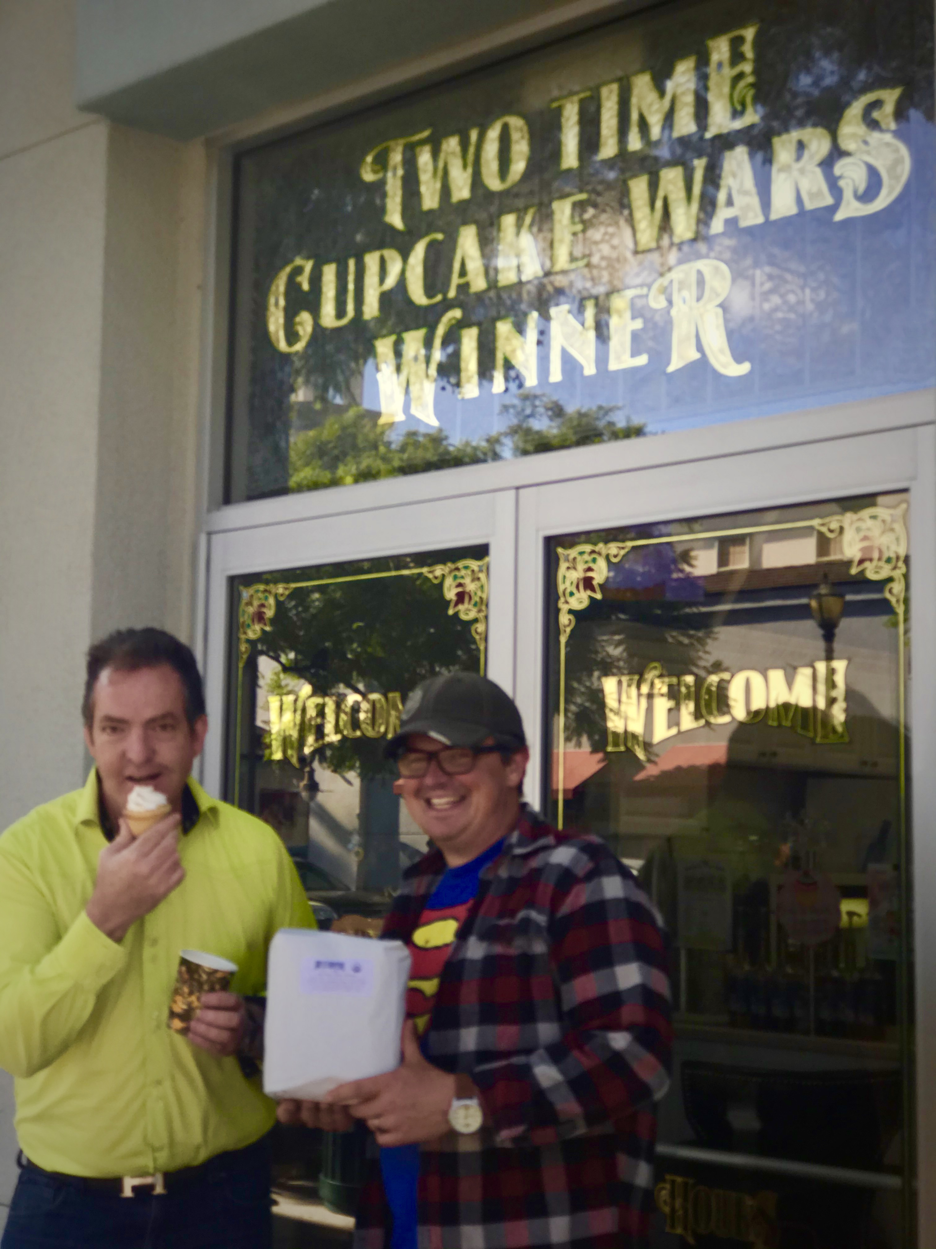 USA Reopens for Business; Coffee and Cupcake Award Winners Unite