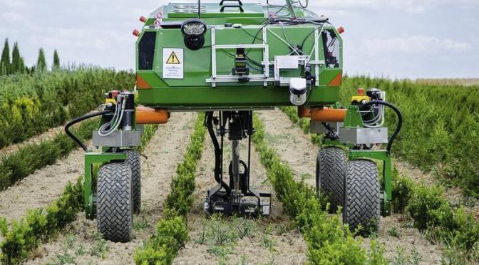 At 16% CAGR, Agricultural Robots Market Size is Expected to Exhibit 10.1 Billion USD by 2024