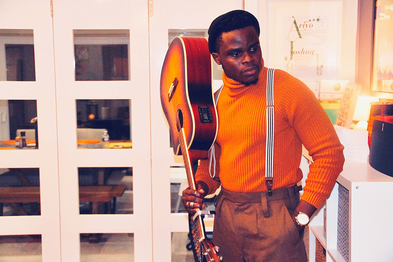 Emmanuel Anjorin popularly known as Homebased is set to take over the wheels of the music industry with his new single titled JUST FINE