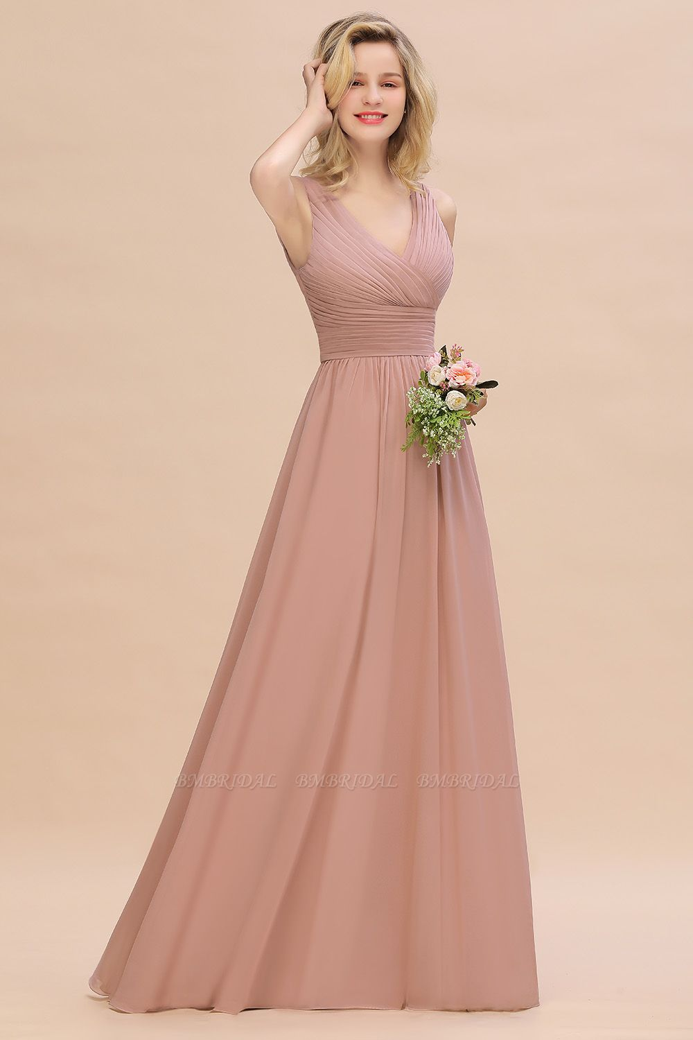 Chiffon Has Become The Most Popular Choice For Bridesmaid Dresses