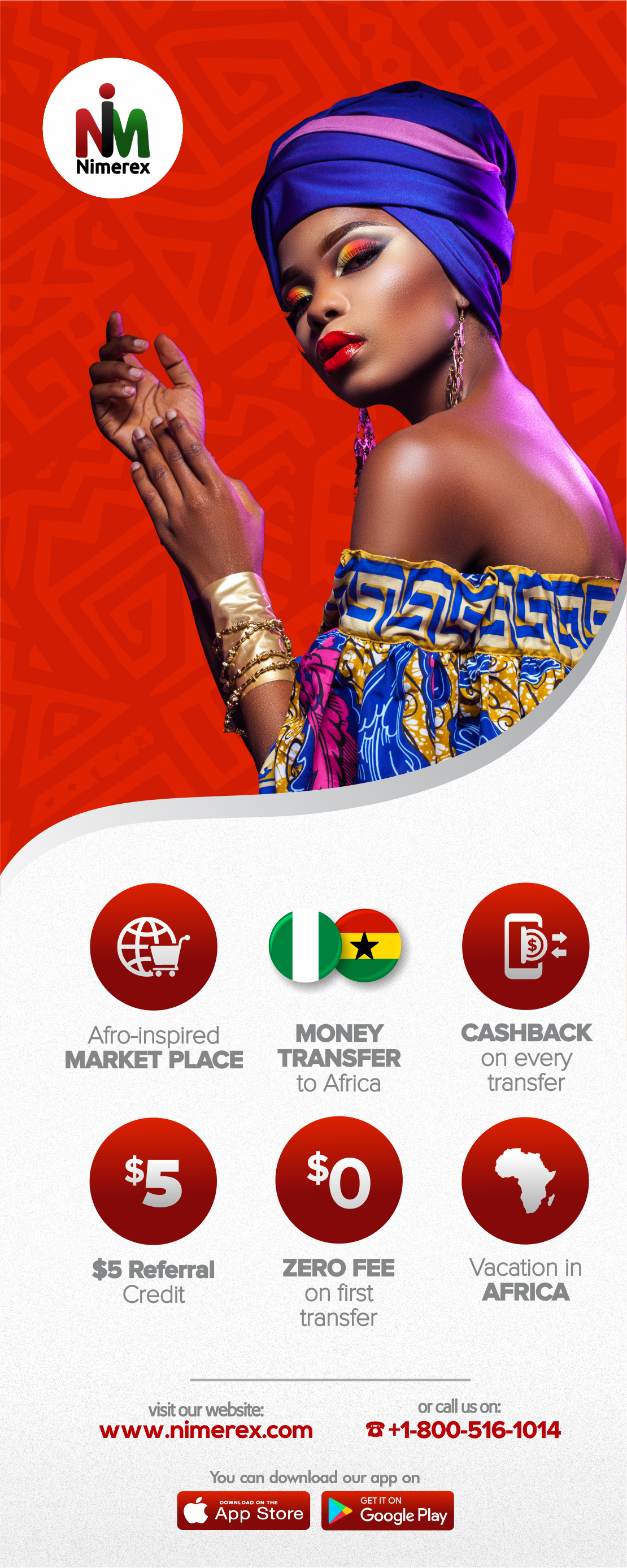 Nimerex Announces the Launch of its Afro-Inspired Online Marketplace