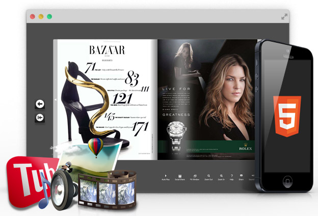 FlipHTML5 Rolls Out a Magazine Creator for Creating Printable Magazines