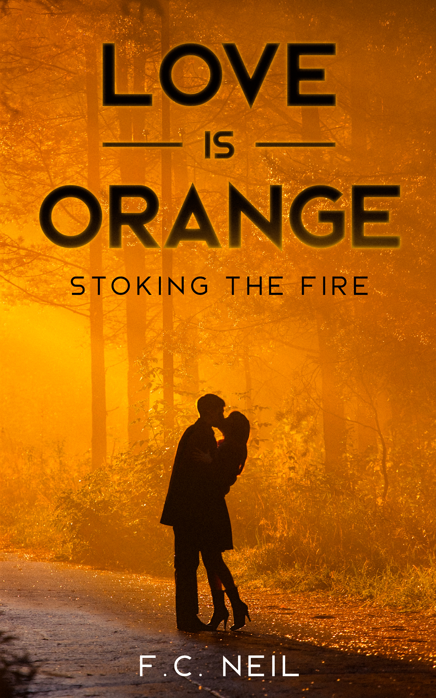 Love is Orange by F.C Neil - A Tale of Forbidden Youthful Love turned Mystical