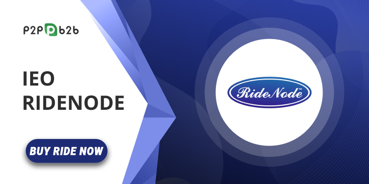 RideNode, Blockchain-Based Transportation Digital Currency Goes Live With It\'s IEO on P2PB2B Platform