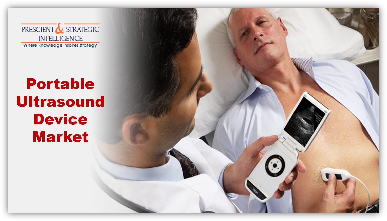 Rising Geriatric Population Driving Portable Ultrasound Device Market
