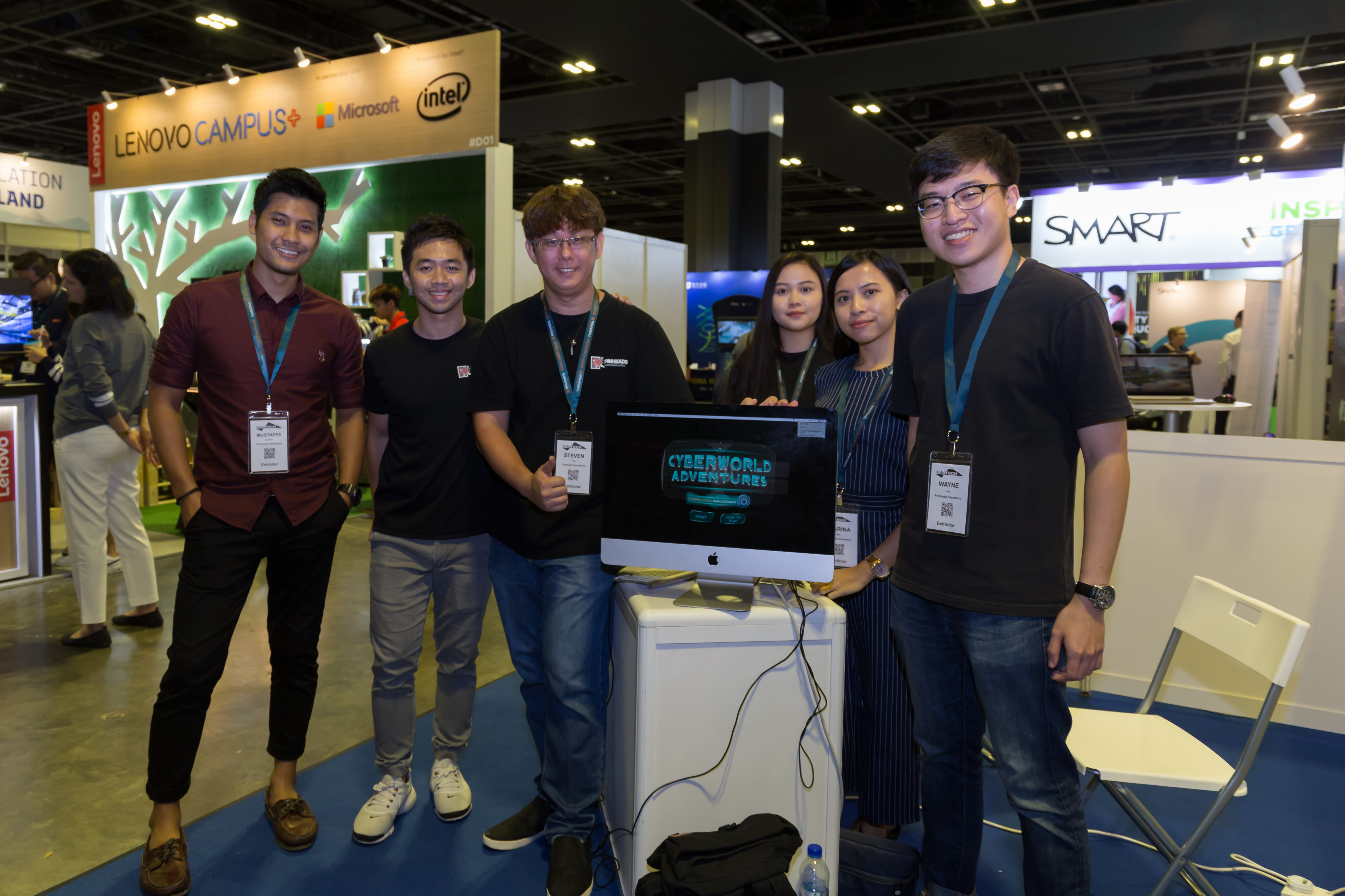 Pinheads Interactive Pte. Ltd. Showcased their Groundbreaking VR Project at EduTECH Asia 2019