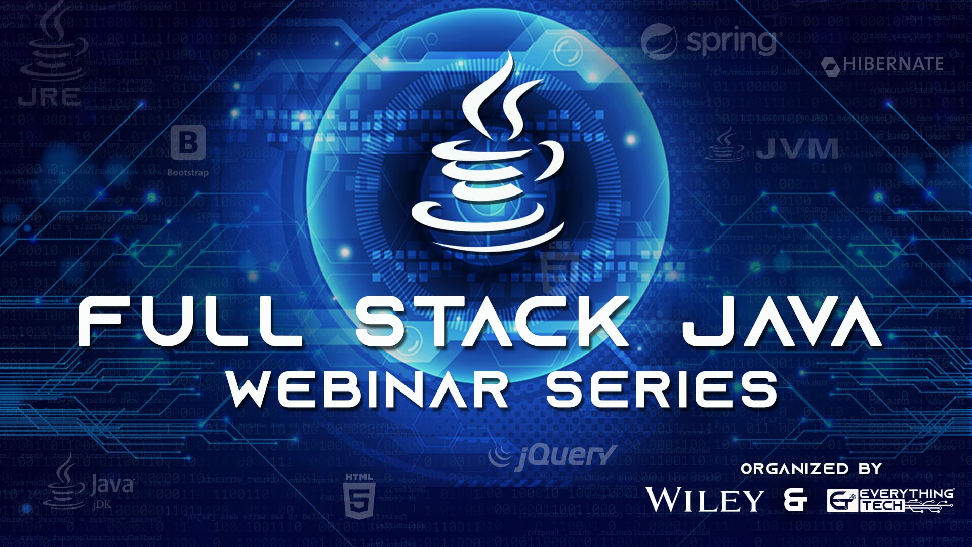 EverythingTech has joined Hands with Wiley India to Launch Full Stack Development Webinar Series