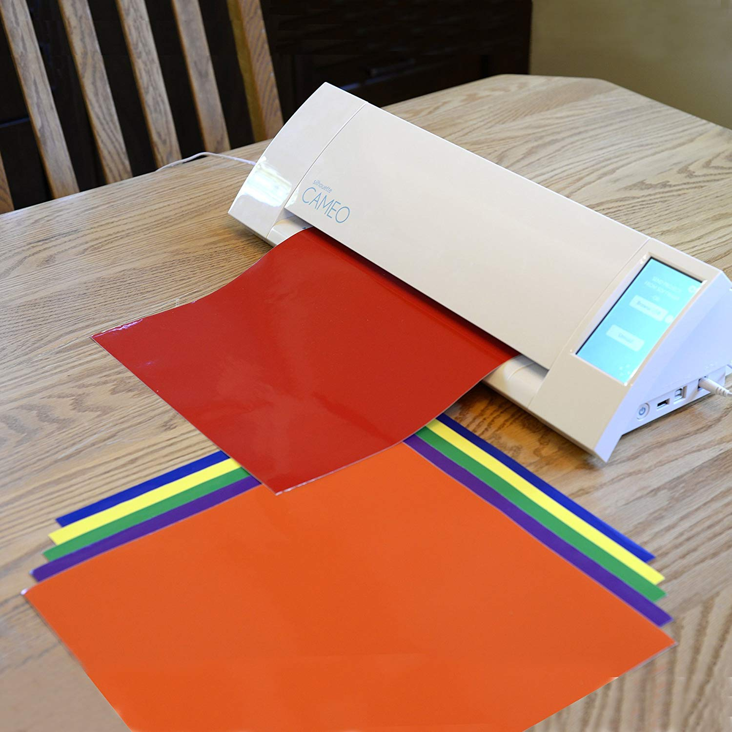Delighted User Recommends Angel Crafts Adhesive Vinyl Sheets for Quality and Color Variety