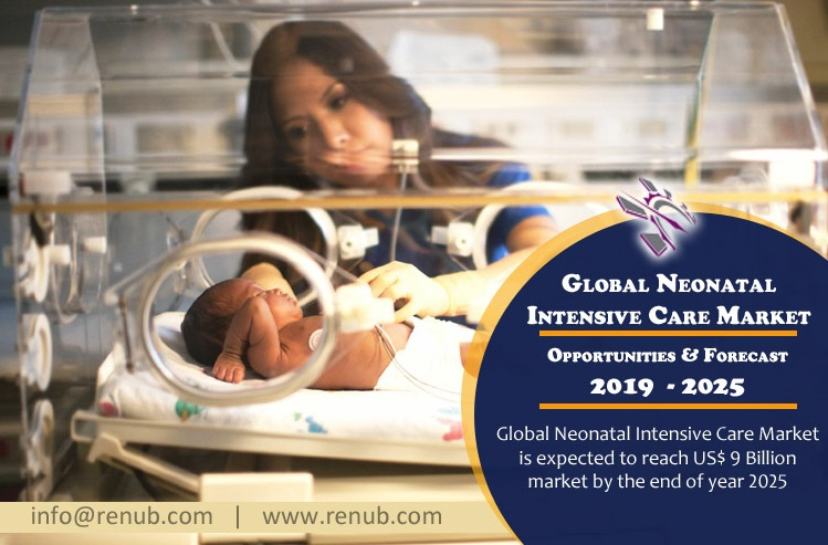 Global Neonatal Intensive Care Market is expected to reach US$ 9 Billion market by the end of year 2025
