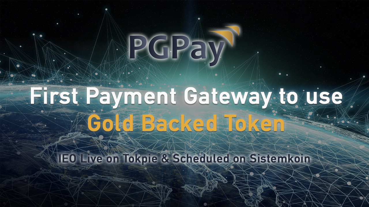 PGPay enters IEO phase with token sale live on Tokpie and another scheduled on Sistemkoin