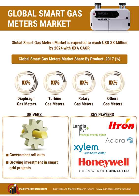Smart Gas Meter Market 2019 Global Industry Share, Size, Manufacturers, Growth Factors, Opportunity, Trends, Statistics Data, Competitive Landscape With Regional Forecast To 2024