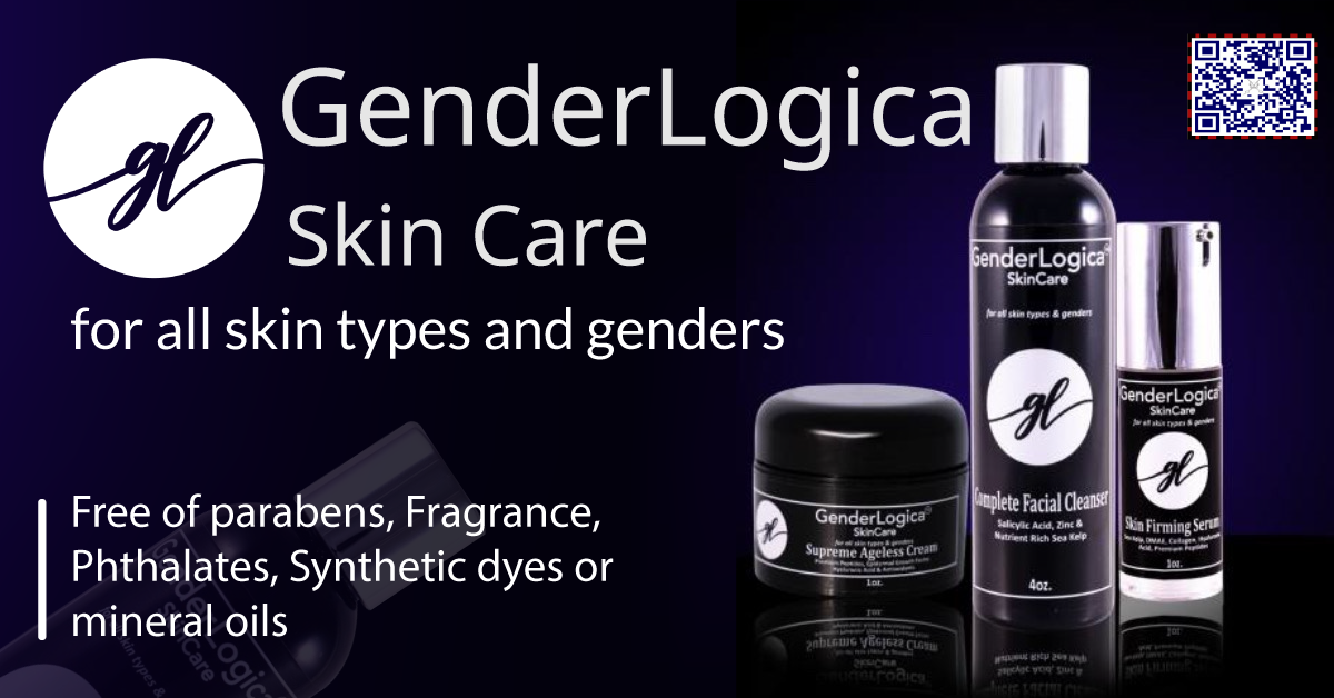 Anthony Cortes Releases Healthy and Powerful GenderLogica Skin Care Line for Age-Defying Skin