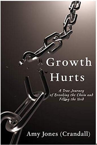 Growth Hurts: A True Journey of Breaking the Chain and Filling the Void by Amy Jones (Crandall) - a Tale of Tenacity through Tough Situations