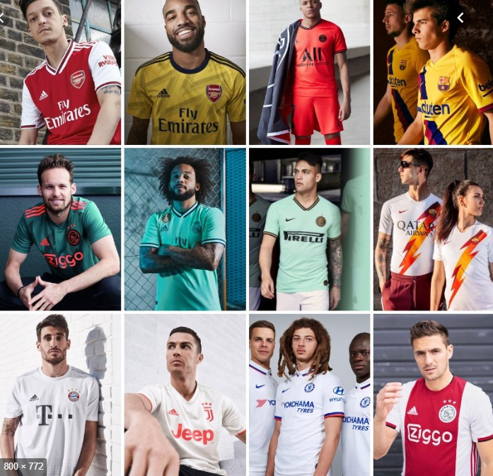 The 10 Best Football Kits of the 2019/20 Season