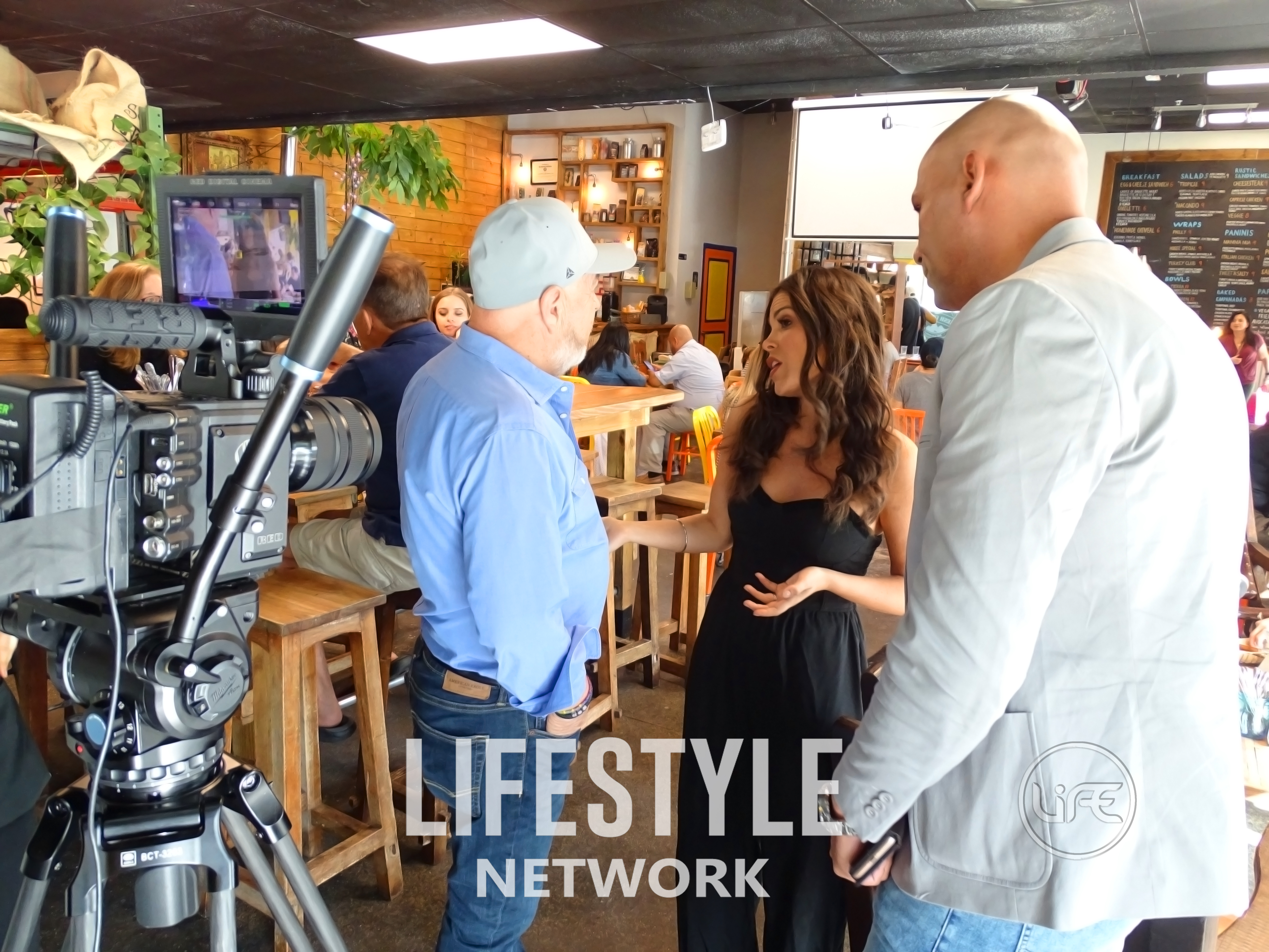 TELEVISION PRODUCER ALAA HARAZIN LAUNCHES FLORIDA FOOD CRAWL ON HIS OWN TV NETWORK