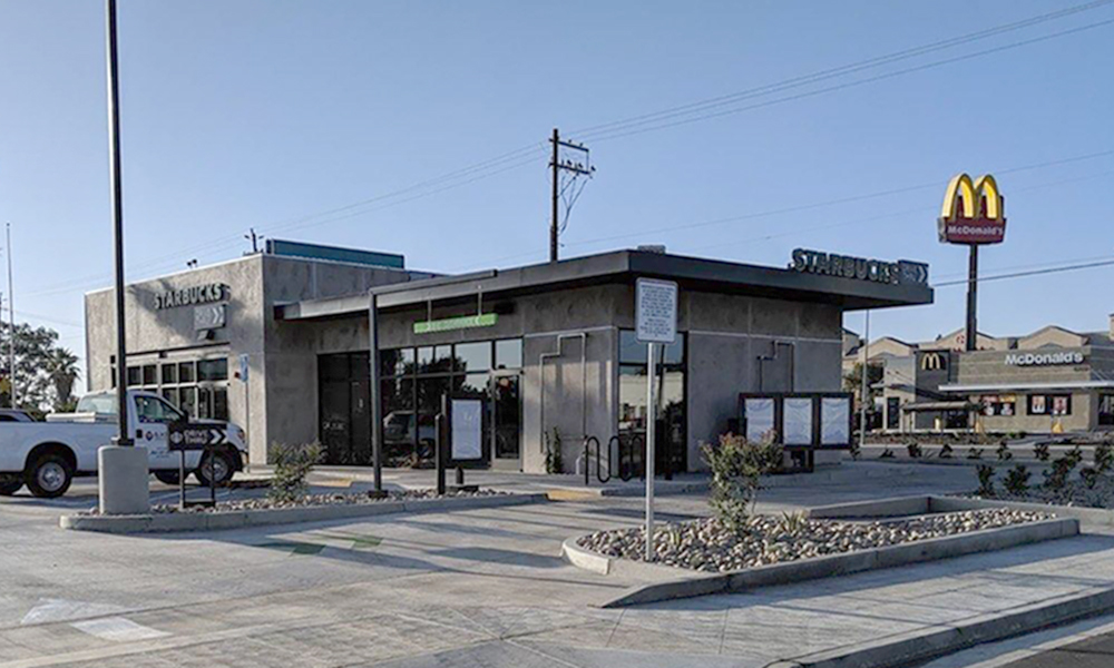 Hanley Investment Group Sells New-Construction, Single-Tenant Starbucks Drive-Thru in Fresno, Calif. for $1,345 PSF