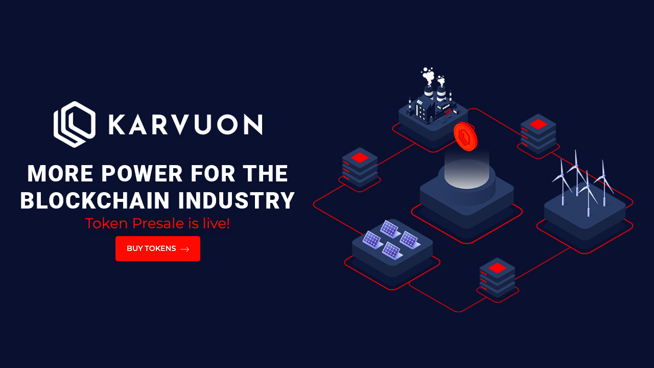 Karvuon: More Power for the Blockchain Industry