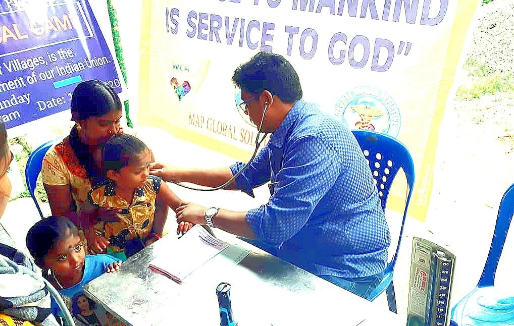 WCH 4th Annual Free Medical Camp Helped Senior Citizens and Children