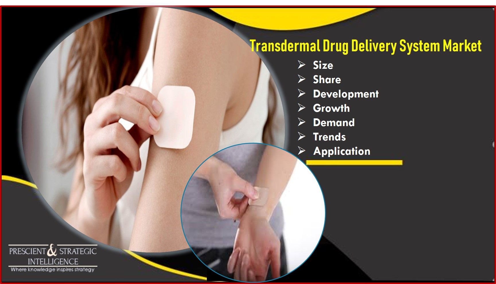 Transdermal Drug Delivery Systems Market Growing Owing to the Need to Deal with Pain