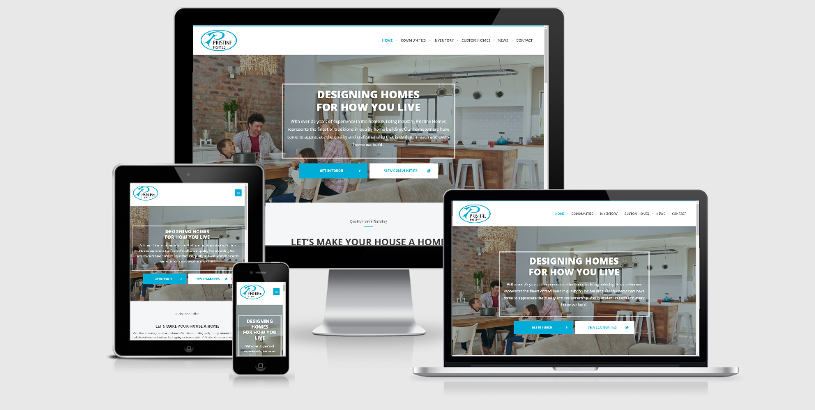 Pristine Homes Announces the Launch of Brand-New Website