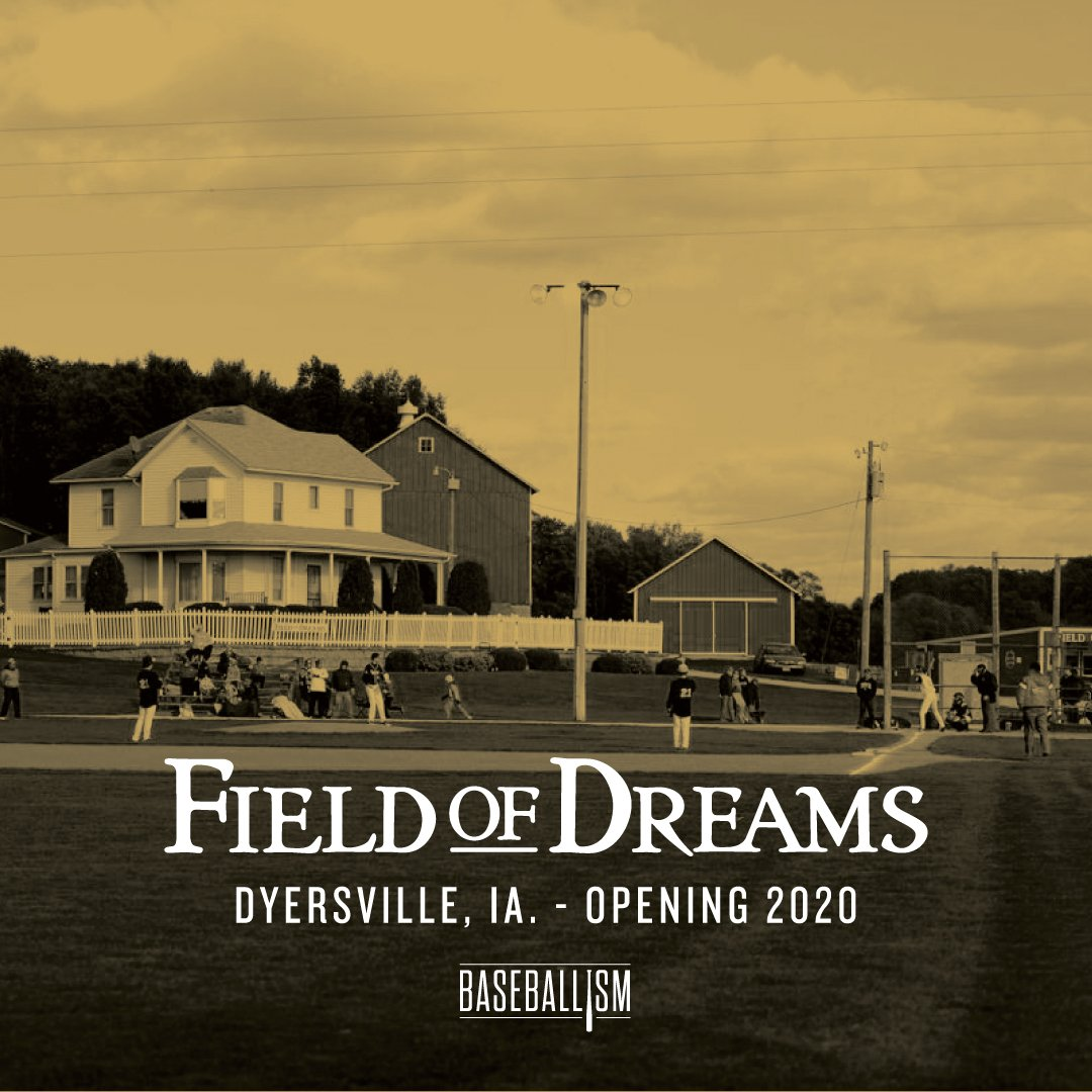 New Baseballism Field of Dreams Store Announced for 2020