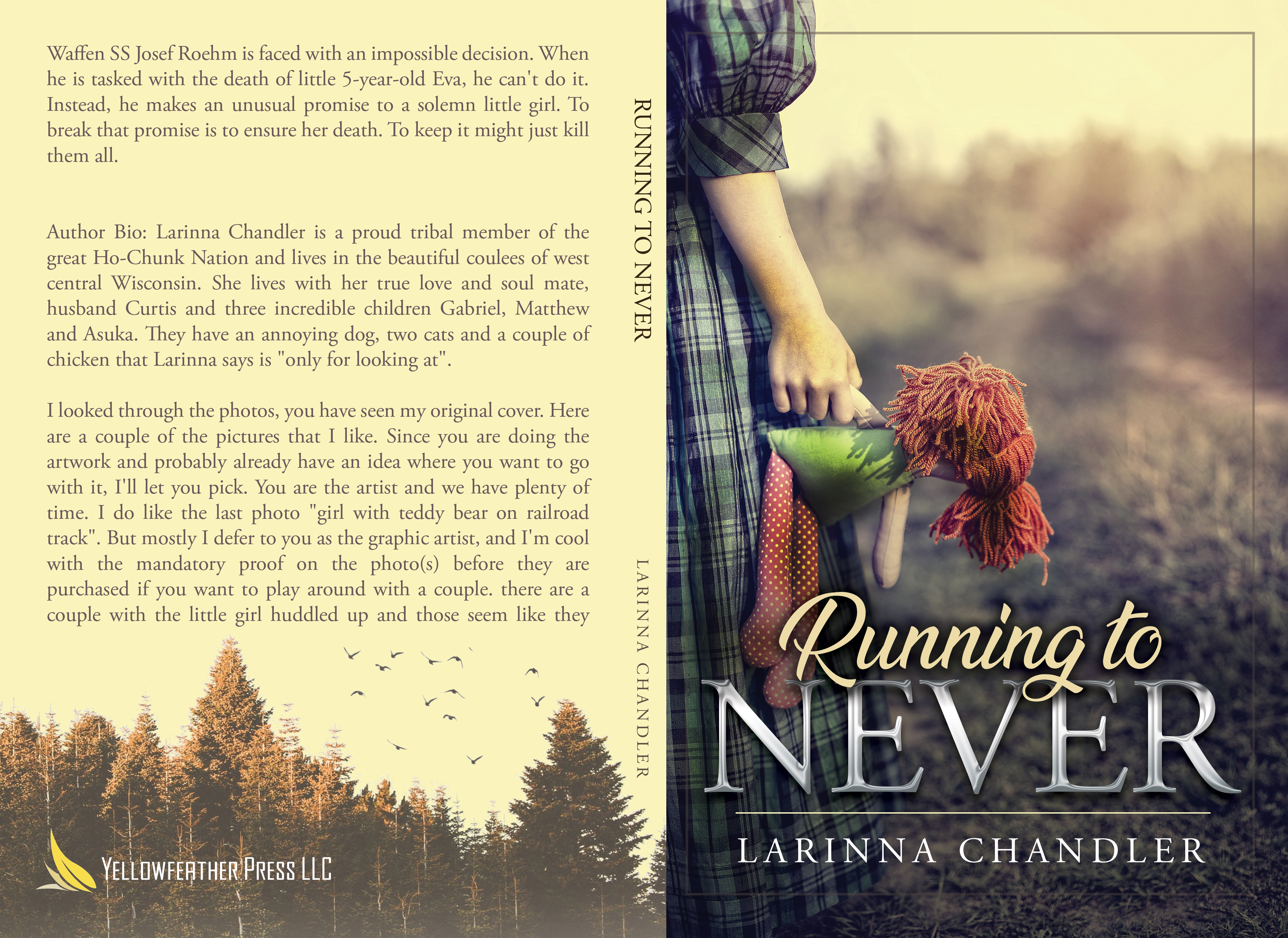 New WWII Fiction 'Running to Never' Tells of Heroic Deeds Not Heard About Often