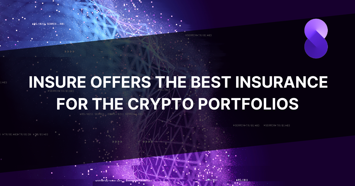 InSure offers the best insurance for the crypto portfolios