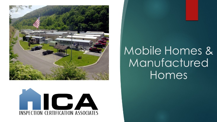 Inspection Certification Associates Offers Comprehensive Mobile, Manufactured, Tiny, & Log Homes Inspection Certification Course