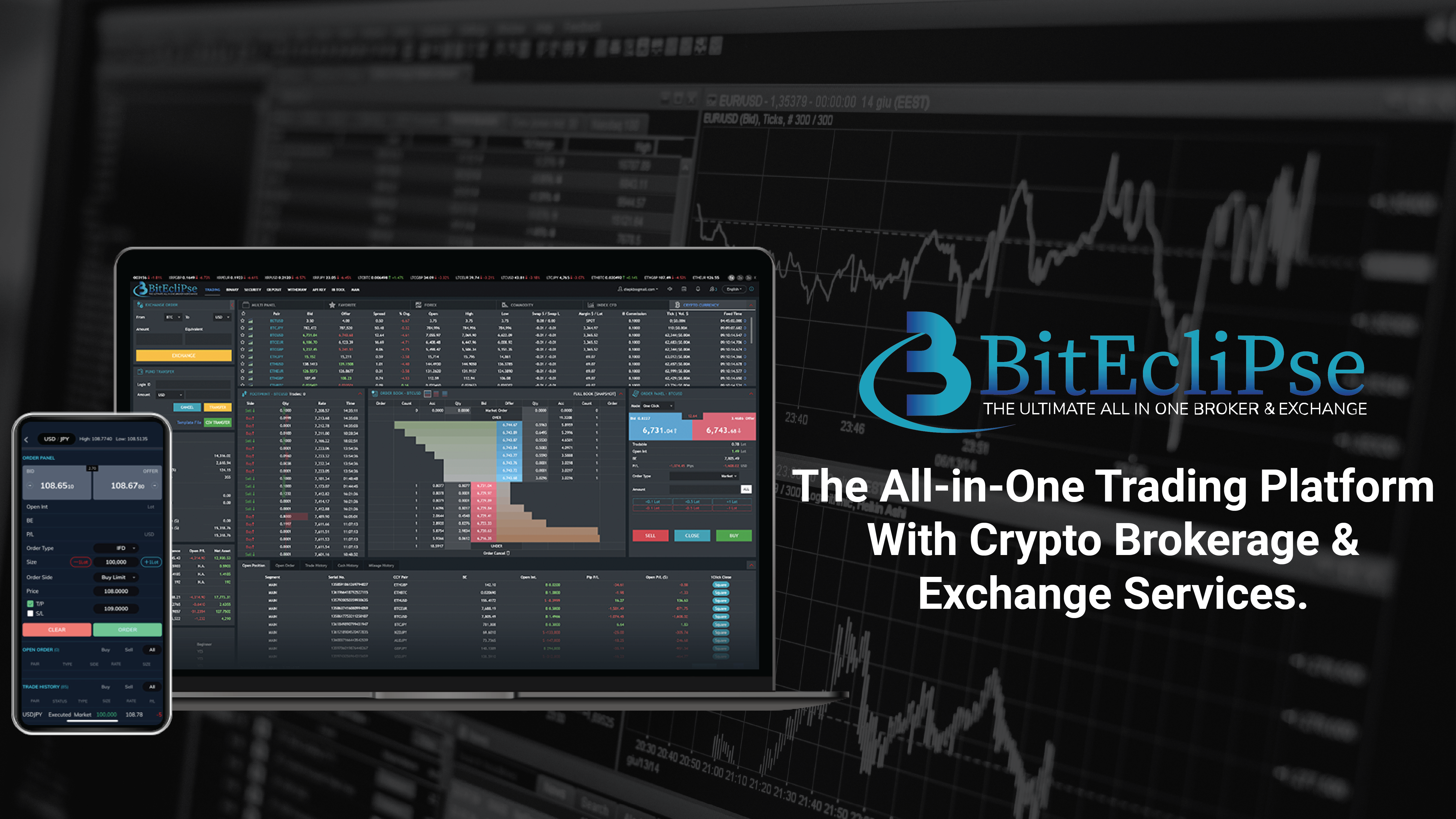 BitEclipse: The All-in-One Trading Platform With Crypto Brokerage and Exchange Services
