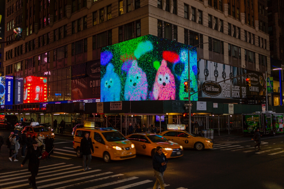 """ZAZ10TS Brings Art and Nature to Times Square with """"ZAZ Corner"""" as a Curated Digital Billboard Gallery"""